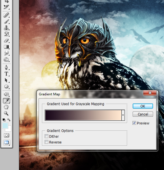 42 pixel 77 owl poster tutorial Design Process: How to create a movie poster with Photoshop and Paint Tool SAI