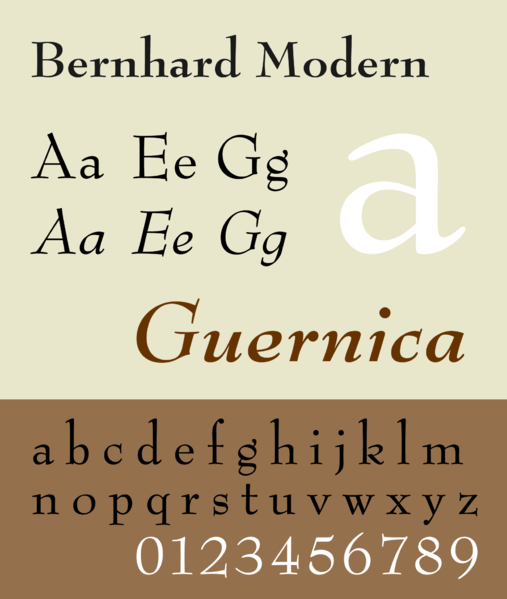 507px BernhardModernSpec Famous Type Designers   The Origins of Type