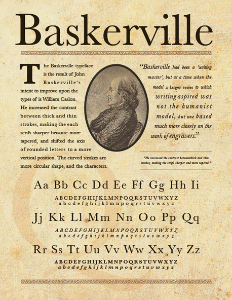 Baskerville Famous Type Designers   The Origins of Type