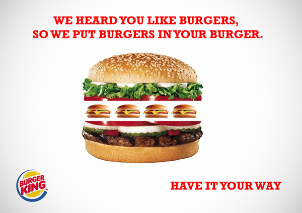 Burger King Advertising Campaign 15 Most Creative and Effective Advertising Taglines