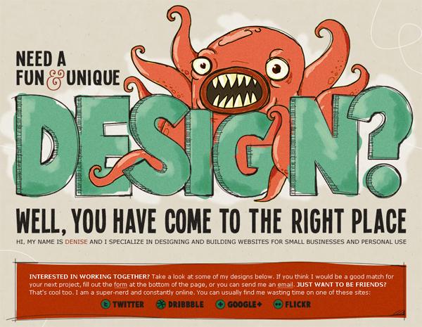 Denise Chandler website design How to create an effective website design