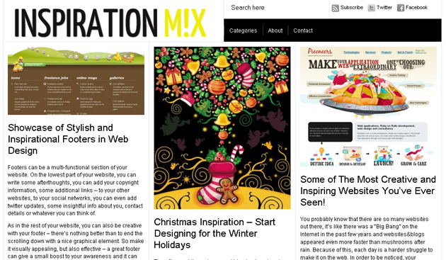 Inspirationmix daily inspiration 10 Ways to Make Your Blog More Attractive
