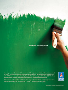 SHERWG ad grassMed 15 Most Creative and Effective Advertising Taglines