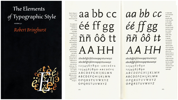 The Elements of Typographic Style My Reading List   Typography & Composition Books