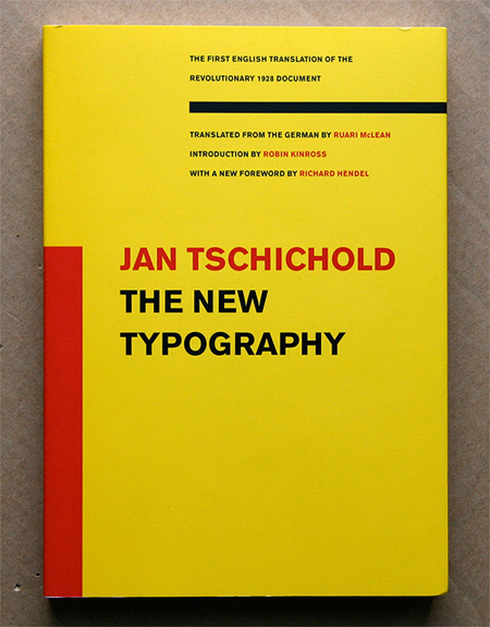 The New Typography My Reading List   Typography & Composition Books