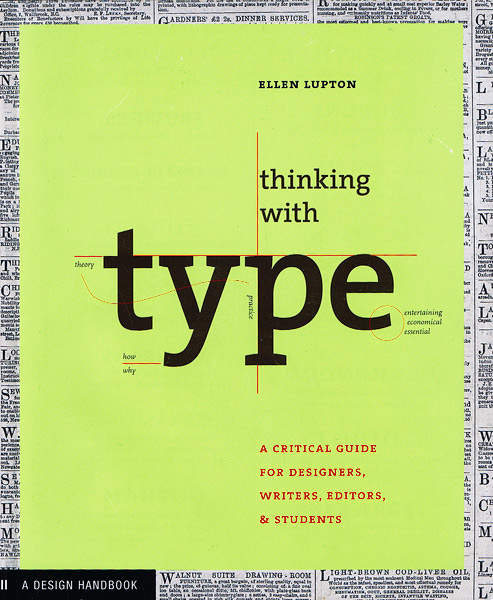 Thinking with Type My Reading List   Typography & Composition Books
