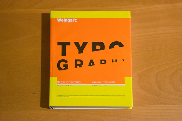 Wolfgang My Way to Typography My Reading List   Typography & Composition Books