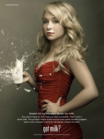 hayden panettiere 15 Most Creative and Effective Advertising Taglines