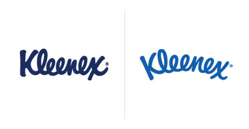 kleenex logo Some of The Worlds Iconic Logo Designers