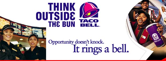 taco bell hdr 15 Most Creative and Effective Advertising Taglines