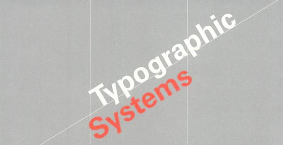 typographic systems My Reading List   Typography & Composition Books