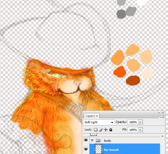 12 pixel 77 puss in boots photoshop tutorial Design Process: How to create a Puss in Boots movie poster in Photoshop