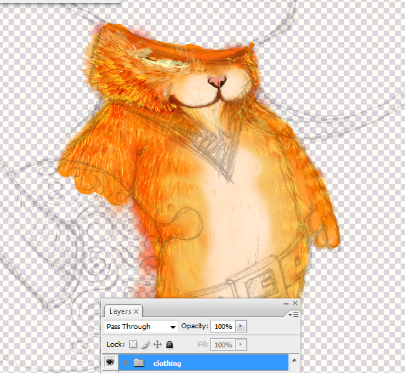 14 pixel 77 puss in boots photoshop tutorial Design Process: How to create a Puss in Boots movie poster in Photoshop