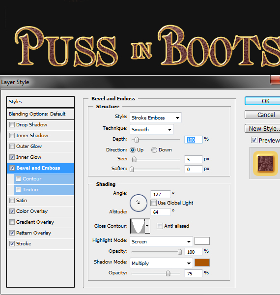 37.1 pixel 77 puss in boots photoshop tutorial Design Process: How to create a Puss in Boots movie poster in Photoshop