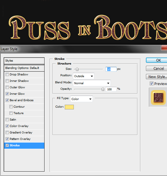 37.4 pixel 77 puss in boots photoshop tutorial Design Process: How to create a Puss in Boots movie poster in Photoshop