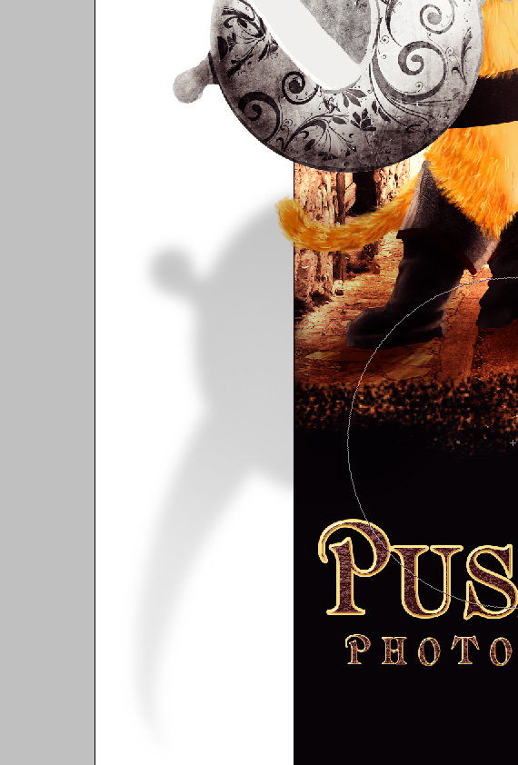 41 pixel 77 puss in boots photoshop tutorial Design Process: How to create a Puss in Boots movie poster in Photoshop