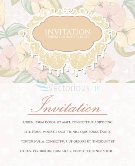 4725 vintage invitation How to Use Seamless Patterns to Create Fascinating Designs