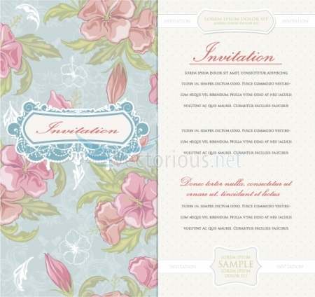 4726 vintage invitation How to Use Seamless Patterns to Create Fascinating Designs