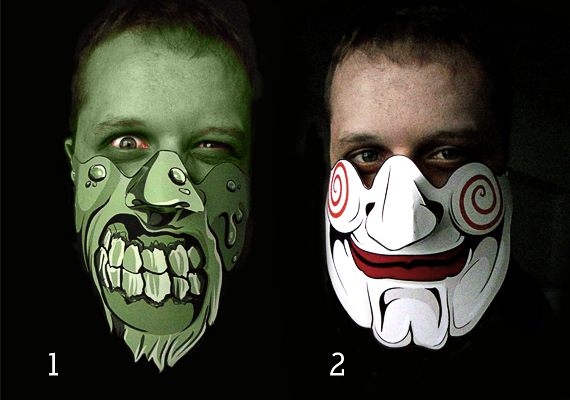 Halloween Vector Mask Giveaway 1 Giveaway   Win 5 Scary Halloween Vector Masks!