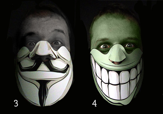 Halloween Vector Mask Giveaway 2 Giveaway   Win 5 Scary Halloween Vector Masks!