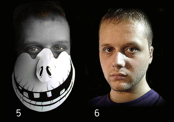 Halloween Vector Mask Giveaway 3 Giveaway   Win 5 Scary Halloween Vector Masks!