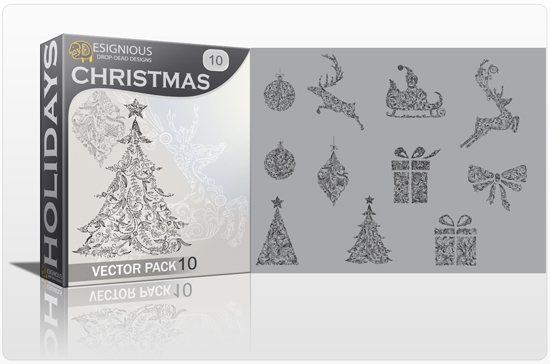 christmas 10 prev 1 How to Create Vector Snowflakes Tutorials & Design Resources