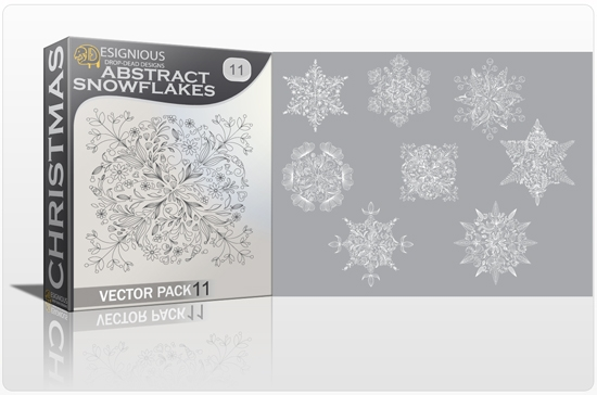 christmas 11 1 How to Create Vector Snowflakes Tutorials & Design Resources