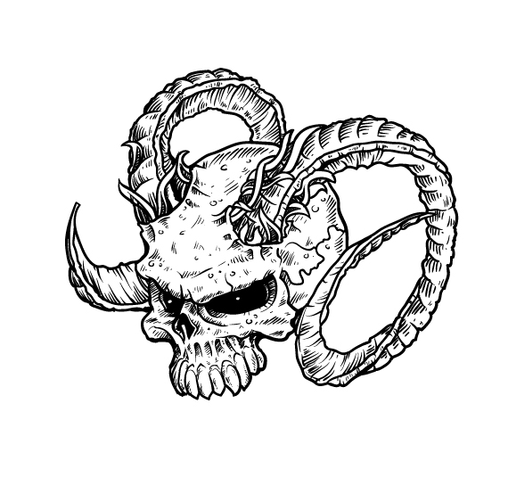 final pixel 77 complete guide to draw skulls illustrator1 A complete guide to drawing evil vector skulls in Illustrator