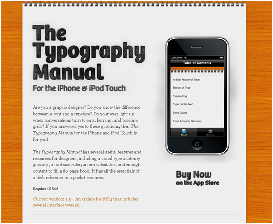 iPhone font app 4 Cool and Creative iPhone Font Applications