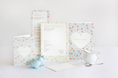 mitchell dent english floral pattern wedding invitation suite 500x333 How to Use Seamless Patterns to Create Fascinating Designs