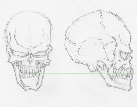 sketch 3 pixel 77 complete guide to draw skulls illustrator A complete guide to drawing evil vector skulls in Illustrator