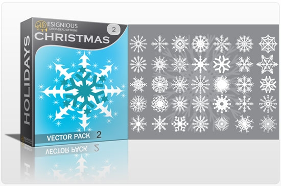snow flakes christmass 2 How to Create Vector Snowflakes Tutorials & Design Resources