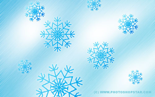 snowflake tutorial Photoshop How to Create Vector Snowflakes Tutorials & Design Resources