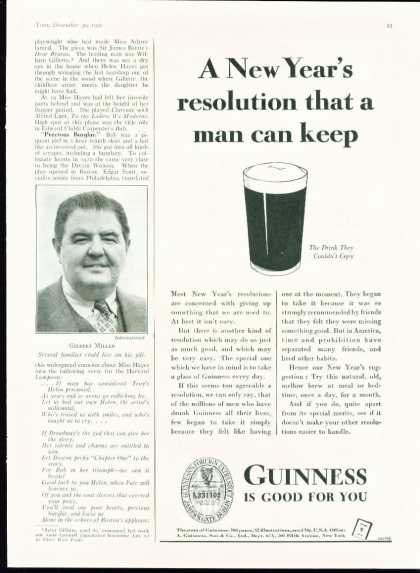 Guinness 1935 Get a Taste of Christmas with some Vintage Advertising Designs
