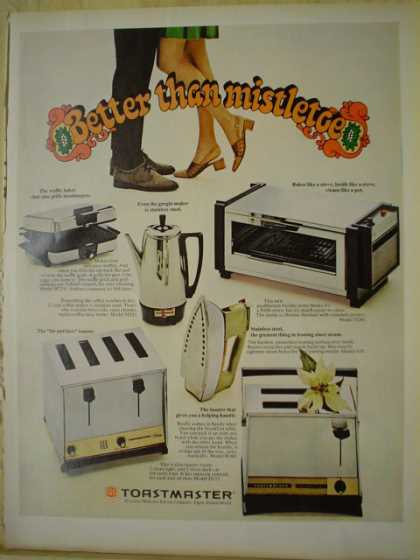 Toastmaster 1969 Get a Taste of Christmas with some Vintage Advertising Designs