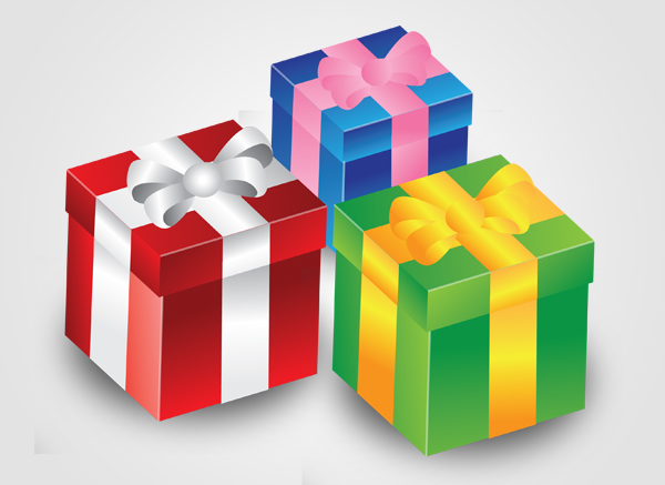 gift box present christmas birthday icon photoshop illustrator graphic design Top 20 Vector Tutorials for Beginners and Advanced Designers