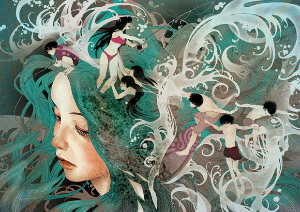 1hair of sea final Interview with Amazing Artist Khoa Le
