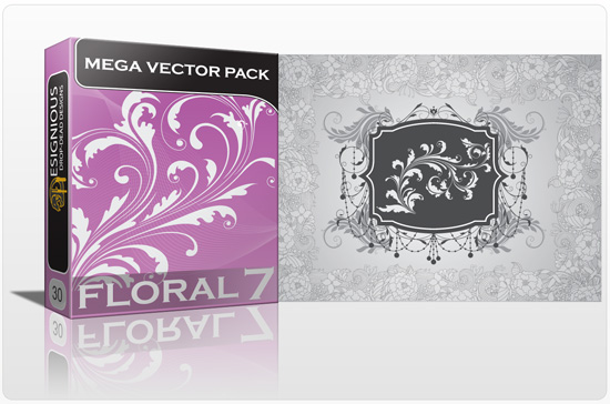 designious floral mega pack 7 preview 111 Inkydeals Winter Bundle   $500 Worth of Design Goodies for only $29 + Bonus!