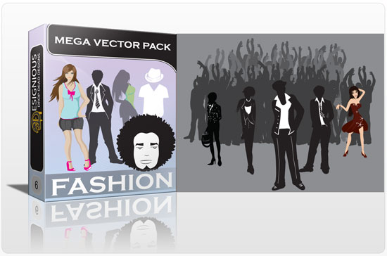 fashion mega pack1 Inkydeals Winter Bundle   $500 Worth of Design Goodies for only $29 + Bonus!