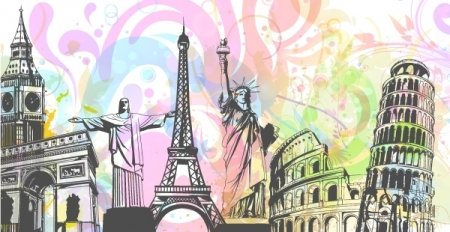 0606 abstract background Vector Monuments Youll Need in Your Design Projects & Their Story   Part 1