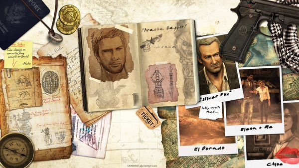 Uncharted Desktop Wallpaper Chad Gersky Artist of the Week   Graphic Designer Chad Gersky