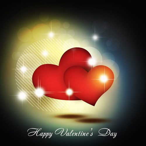 abstract valentine day card vector ps tutorial Photoshop Tutorials Roundup   January 2012