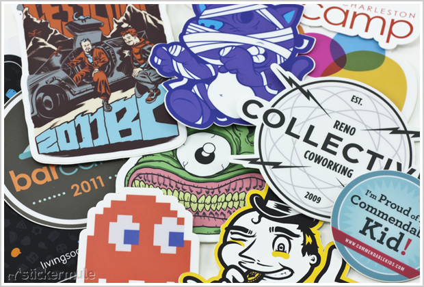 Die Cut Sticker Giveaway By Sticker Mule Winners Pixel - What are custom die cut stickers