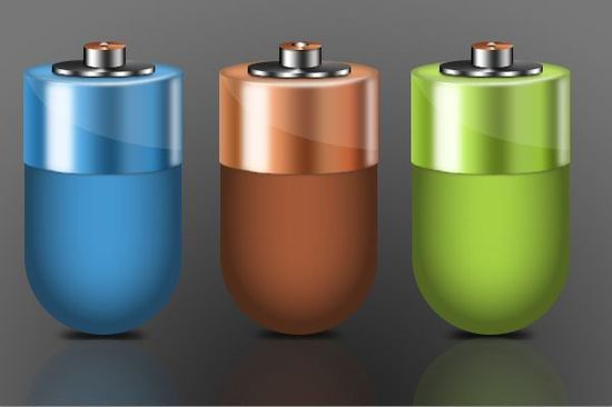 Battery icon tutorial Photoshop Tutorials Roundup   February 2012