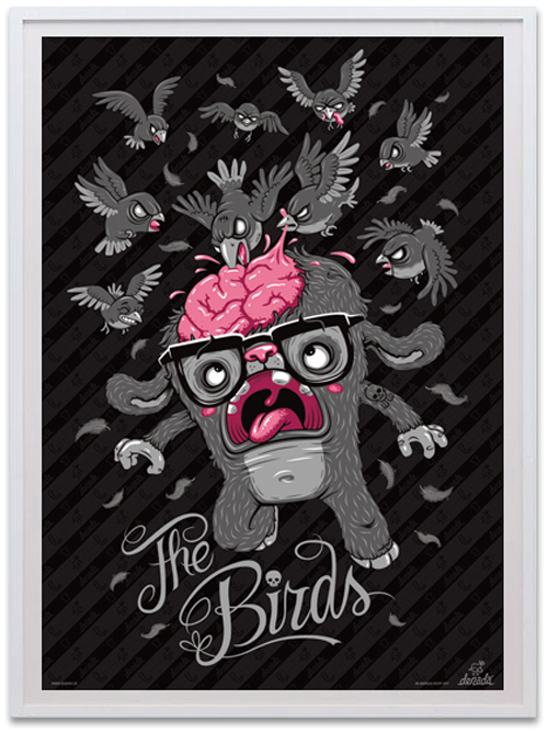 denada posters the birds view1 Interview with Talented Graphic Artist Andreas Krapf