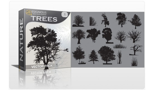 Vector tree 11 Top 10 Most Vivacious Vector Tree Illustrations from 2011