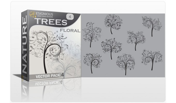 Vector tree 13 Top 10 Most Vivacious Vector Tree Illustrations from 2011