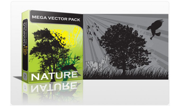 Vector tree 14 Top 10 Most Vivacious Vector Tree Illustrations from 2011