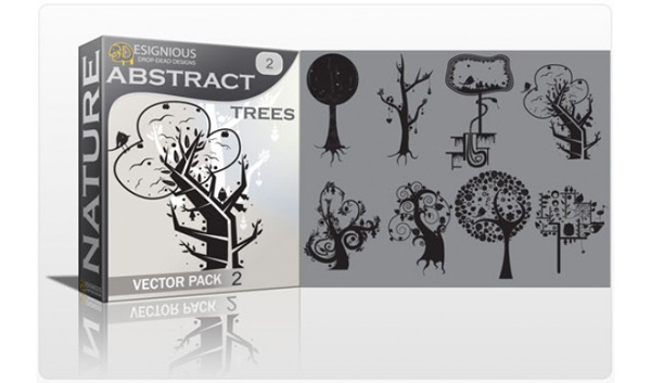 Vector tree 15 Top 10 Most Vivacious Vector Tree Illustrations from 2011