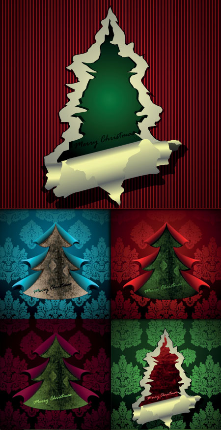 Vector tree 3 Top 10 Most Vivacious Vector Tree Illustrations from 2011